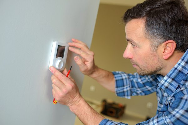 Nest Thermostat Installation in Raleigh NC, Enviro Air NC HVAC experts!
